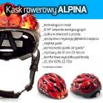 Zapowiedzi AktywnegoSmyka | ALPINA kask rowerowy dla dziecka