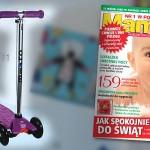 Hulajnoga Maxi Micro | Prezent dla starszaka – miesięcznik Mamo to ja nr 12 (grudzień 2011)