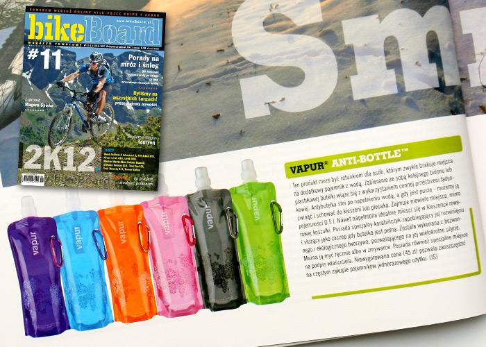 Magazyn rowerowy BikeBoard nr 11 i Vapur® Anti-Bottle™