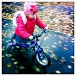 Rowerek biegowy Ridgeback Scoot w jesiennych barwach