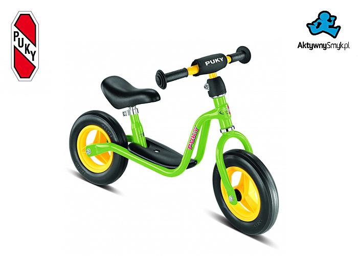 Zielony rowerek biegowy Puky LR M