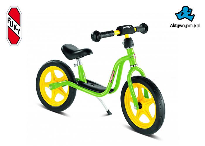 Zielony rowerek biegowy Puky LR 1