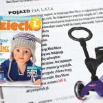 Jeździk / hulajnoga Mini Micro Baby Seat | Zakupy – Co nowego co dobrego – Dziecko nr 1 (styczeń 2012)
