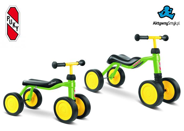 Jeździki PUKYlino i Puky Wutsch w kolorze zielonym
