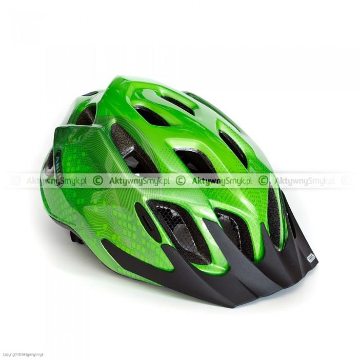 Kask rowerowy Abus Mount X zielony