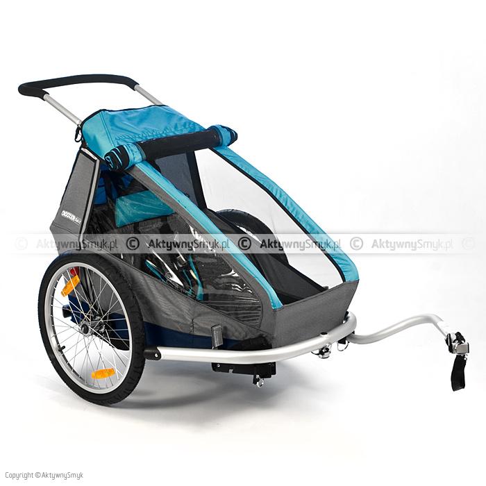 Przyczepka rowerowa Croozer Kid for 1 niebieska