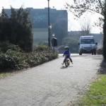 Leo na rowerku biegowym Puky LR 1L