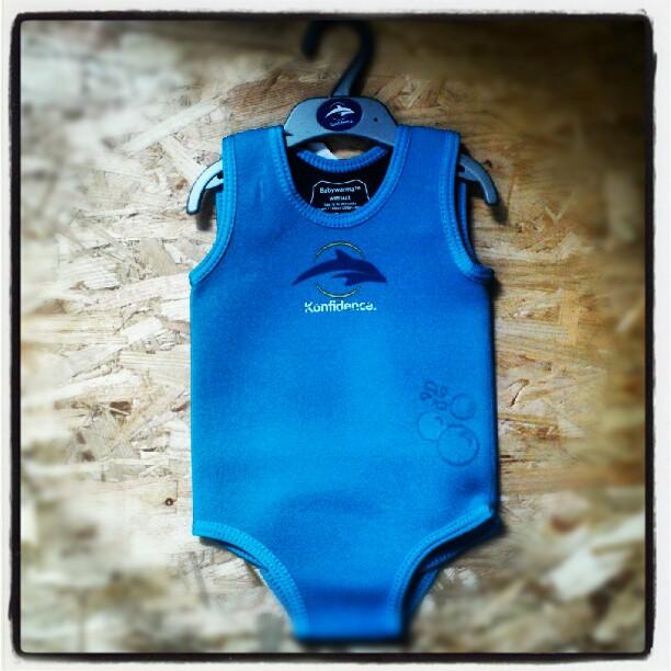 Pianka Konfidence Babywarma niebieska