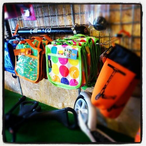 Torebki i plecaki do hulajnogi Mini i Maxi Micro