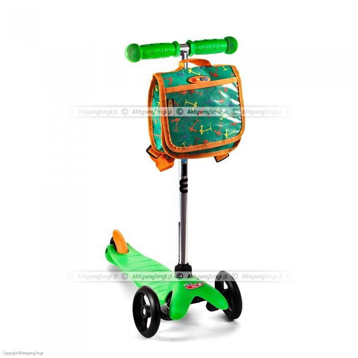 Hulajnoga Mini Micro zielona + plecak zielony