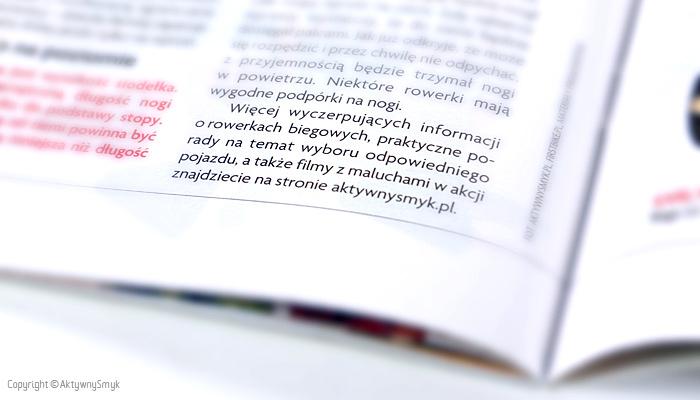 Wiecej wyczerpujacych informacji o rowerkach biegowych znajdziecie na stronie AktywnySmyk