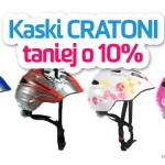 PROMOCJA – kaski Cratoni 10% taniej