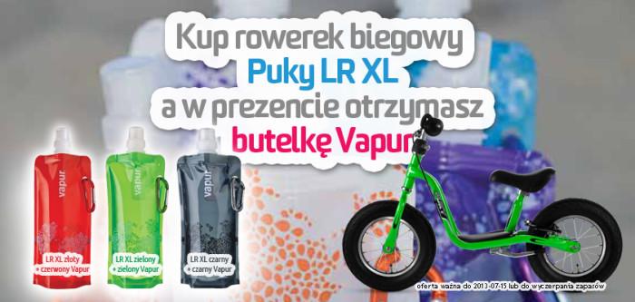 Kup rowerek biegowy Puky LR XL a w prezencie otrzymasz butelkę VAPUR 0,5