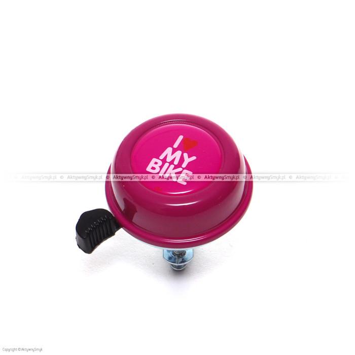 Różowy dzwonek I Love My Bike