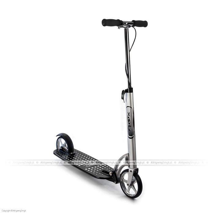 Ten model hulajnogi Xootr wyróżnia podest wykonany z lekkiego stopu magnezu.