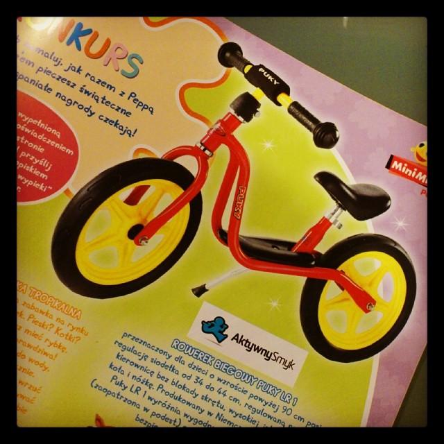Rowerek biegowy Puky LR 1