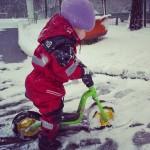 AktywnySmyk lubi… zdjęcie dziecka na rowerku biegowym Puky LR M