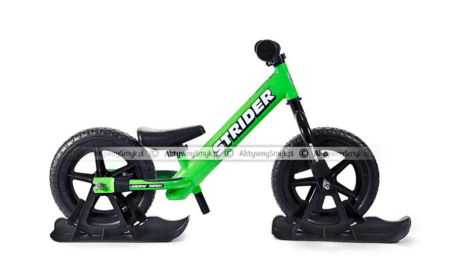 Snow Strider - rowerek biegowy na zimę