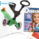 Jeździk i hulajnoga Mini Micro Baby Seat – pomysł na prezent miesięcznika Dziecko