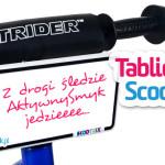 Nowość | Tabliczka Scootrix
