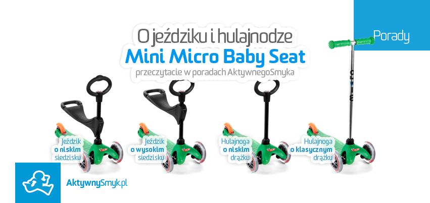 Porady - Mini Micro Baby Seat