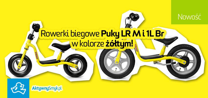 Rowerki biegowe Puky LR M i 1L Br