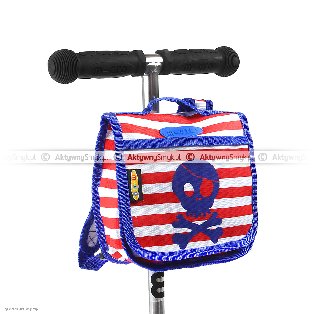 Zapinany na rzep plecaczek Micro Pirate na hulajnogę Micro