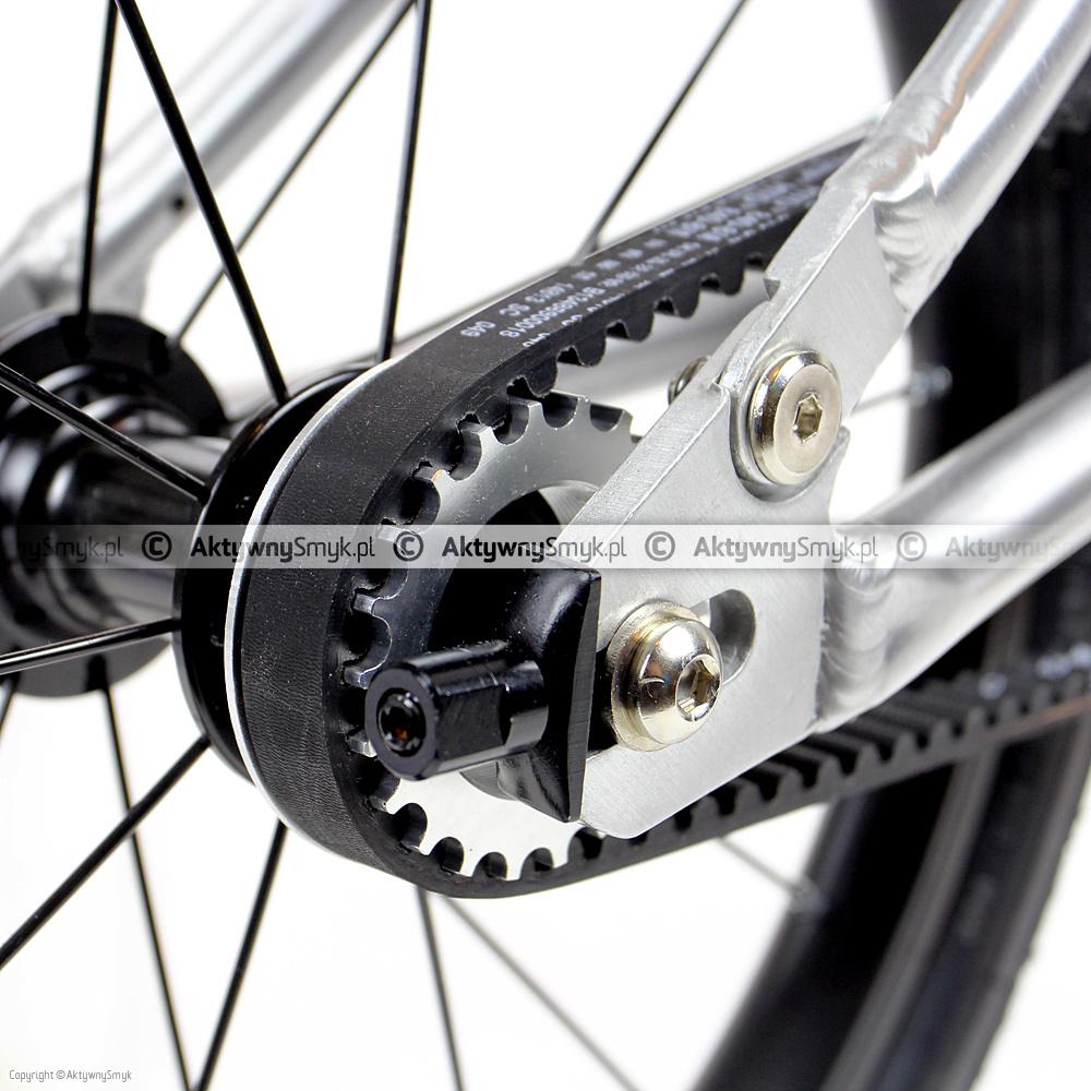Rower Early Rider Belter - pasek zębaty i zębatka tylna