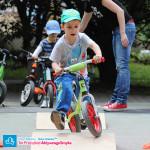 Dziecko na rowerku biegowym Kettler Speedy