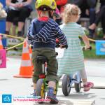 Dzieci na rowerkach biegowych Puky LR M
