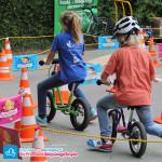 Dzieci na rowerkach biegowych Puky