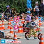 Rowerki biegowe na torze AktywnegoSmyka - Festyn Rodzinny - Dzień Dziecka 2014