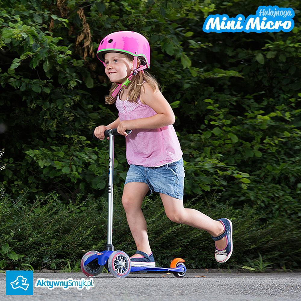 Niebieska hulajnoga Mini Micro to idealny środek lokomocji dla dwuletniego AktywnegoSmyka :-) Dostępna w sklepie AktywnySmyk Warszawa Białobrzeska 5