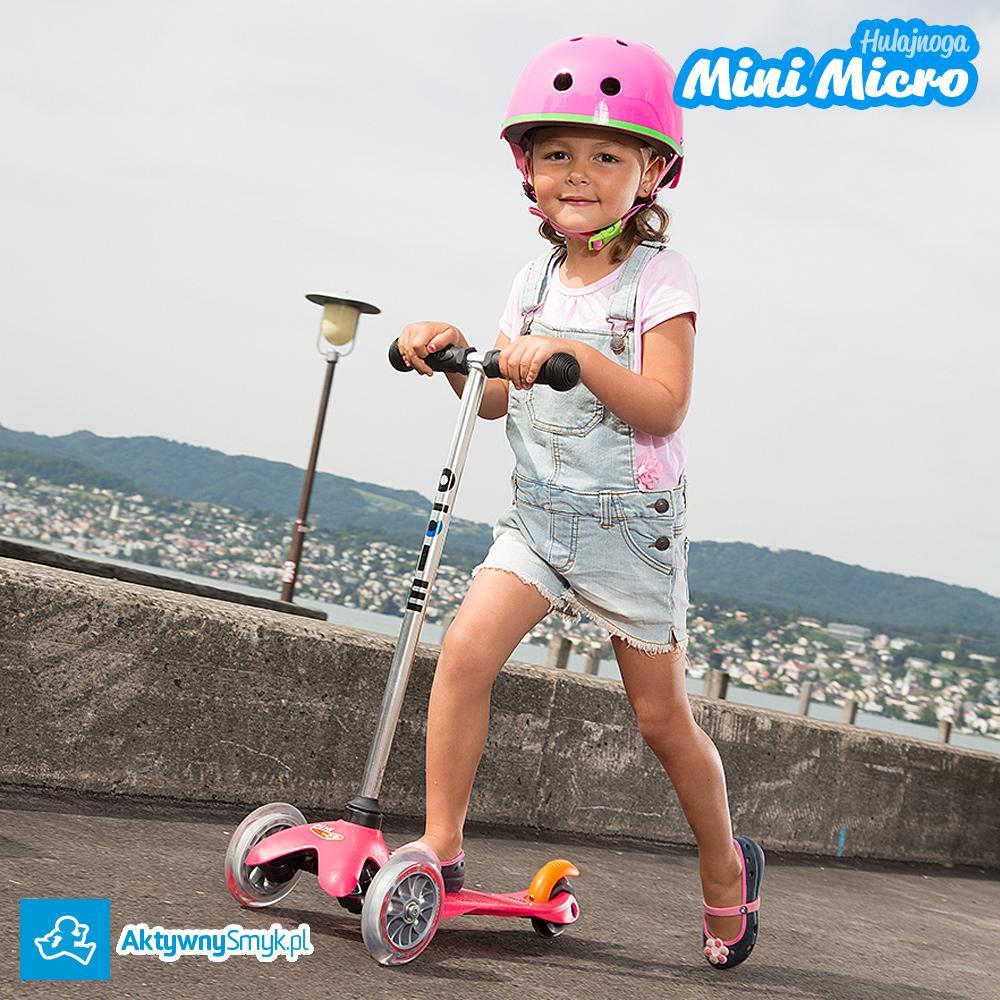 Różowa hulajnoga Mini Micro