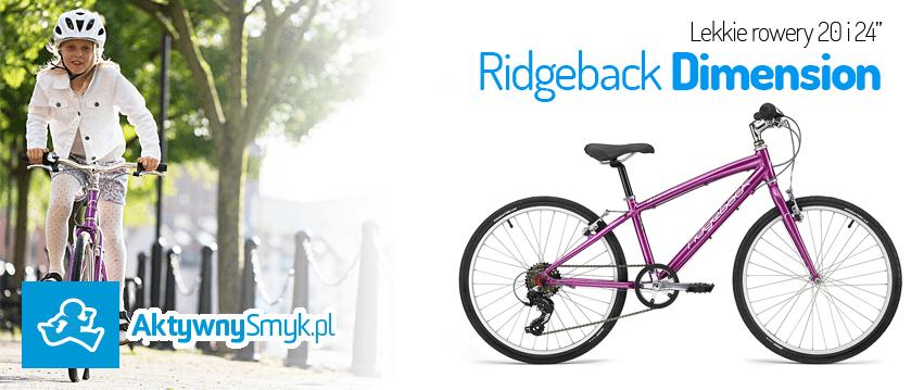 Lekkie rowery Ridgeback Dimension