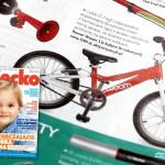 Lekki rower Woom 3 na kołach 16″ – miesięcznik Dziecko nr 5 2015 – Cykliści na start!