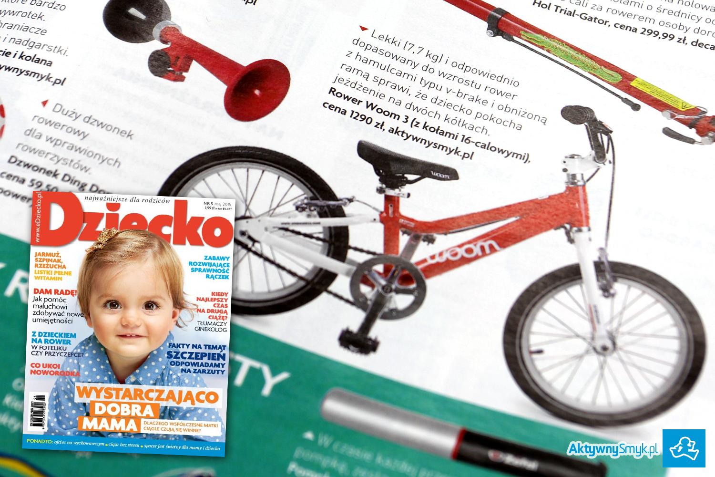 Lekki rower Woom 3 na kołach 16, dla dziecka 4 lata - AktywnySmyk Warszawa Białobrzeska 5