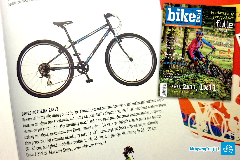 Lekkie rowery dla dzieci Dawes Academy