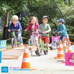 Dzieci na rowerkach biegowych Strider i Puky LR XL
