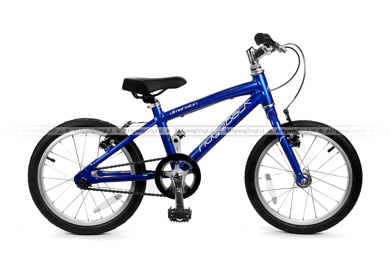 Lekki rowerek na 16 calowych kołach Ridgeback Dimension 16
