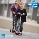 Nowość   Hulajnoga Maxi Micro Purpel