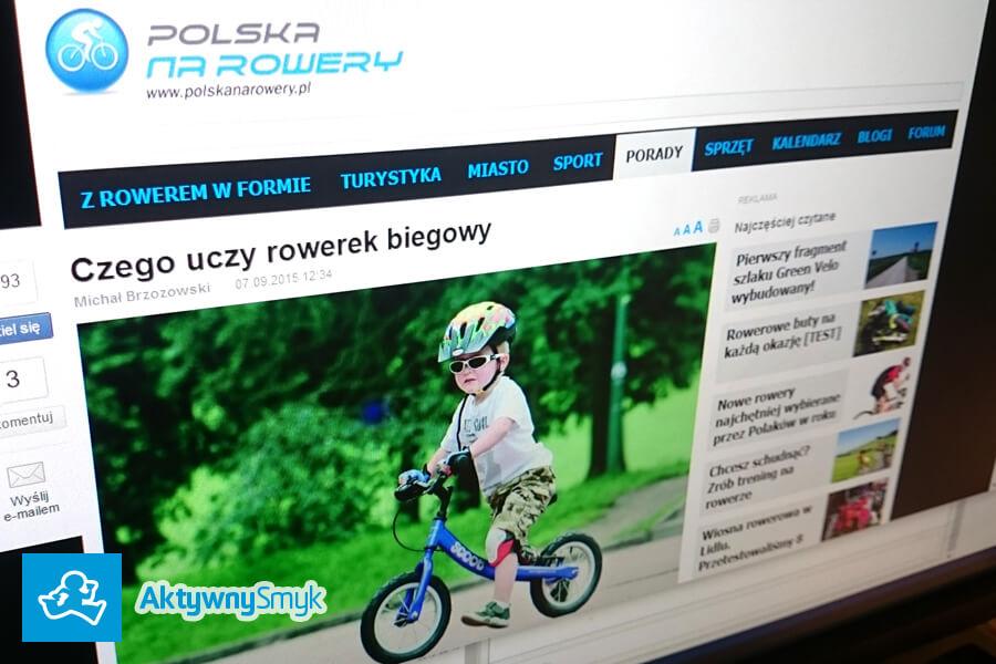 Czego uczy rowerek biegowy - Polska Na Rowery