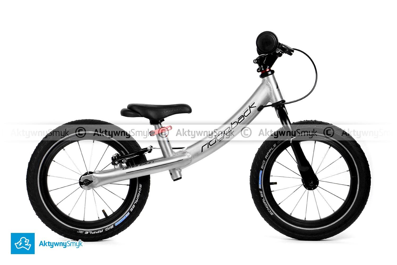 Duży rowerek biegowy dla dziecka ponad 3 lata, wzrost ponad 100 cm