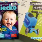 Jeździk / hulajnoga Micro Mini2Go ekstra prezentem według miesięcznika Dziecko