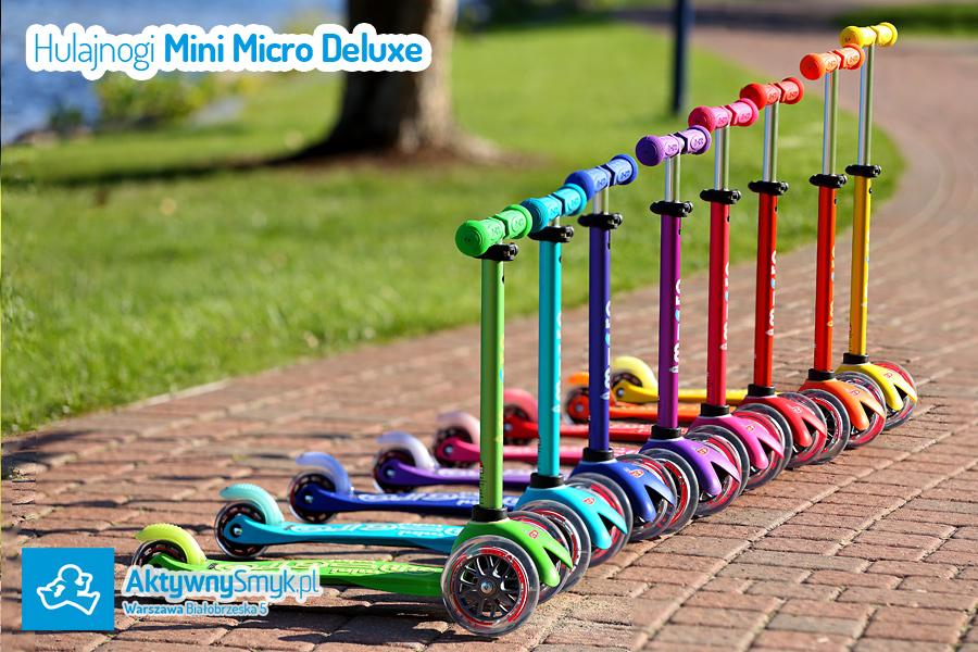 Hulajnoga Mini Micro Deluxe - nowa linia hulajnogi Mini Micro