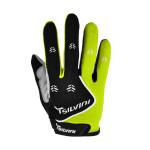 Nowość | Rękawiczki z długimi palcami Silvini Barrata Black-Lime Green