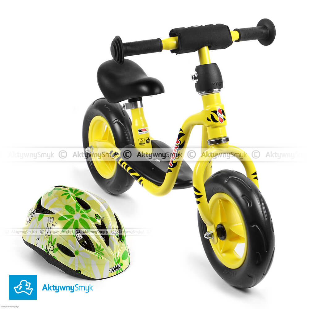 Promocja rowerek biegowy puky LR M i kask Abus Rookie taniej. W zestawie taniej.