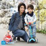 Nowość | Lodowoniebieska hulajnoga Mini Micro Deluxe Ice Blue dla dwulatka
